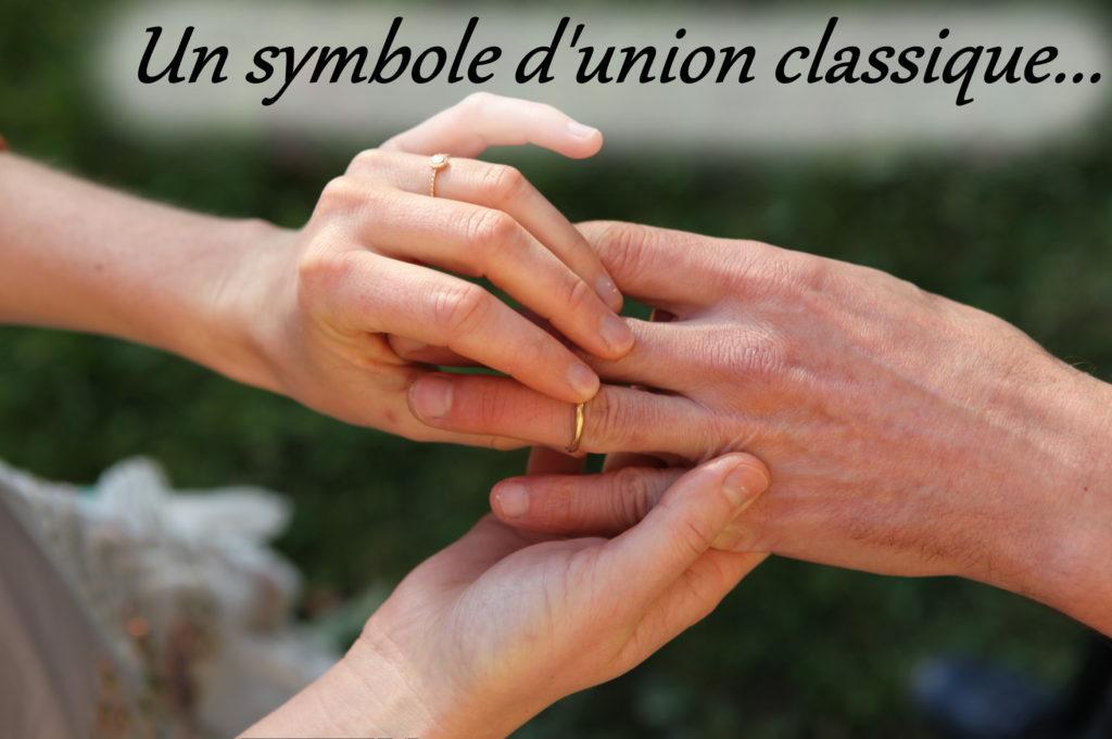 rituel alliance engagement mariage laïque